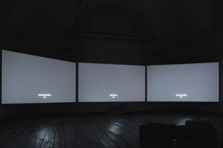 Lost Films - 3 Channel / Installation View
